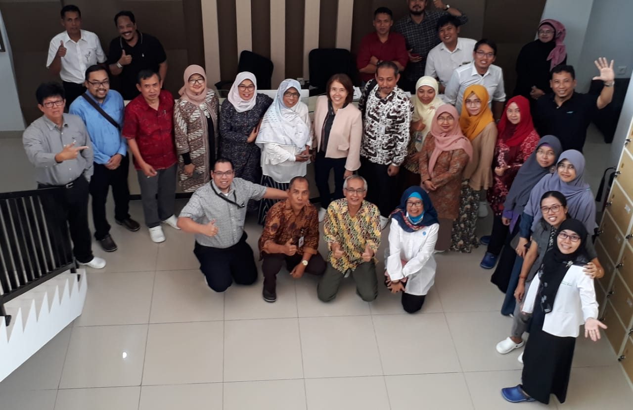 Indonesian Biotechnology Consortium Committee and Members Meeting at Puslit Bioteknologi LIPI